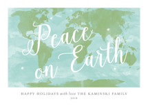 Worldwide Peace Holiday Non-Photo Cards