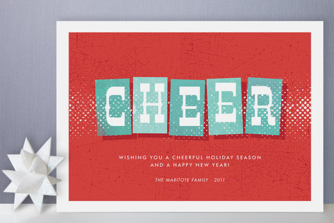 Swanky Holiday Holiday Cards