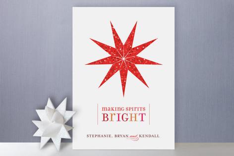 Bright Lantern Holiday Cards