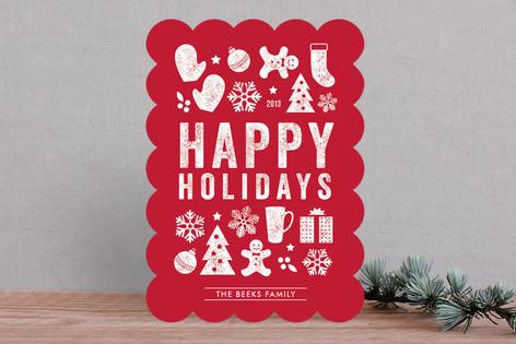 Christmas Dingbats Holiday Cards