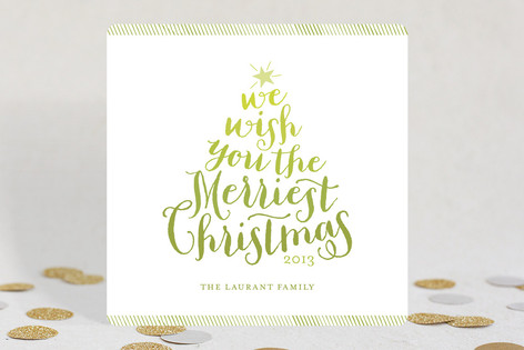 Ombre Holiday Cards