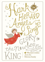 Angels Sing Holiday Non-Photo Cards