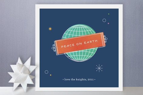 Peace on Earth Holiday Cards