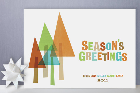 The Evergreens Holiday Cards