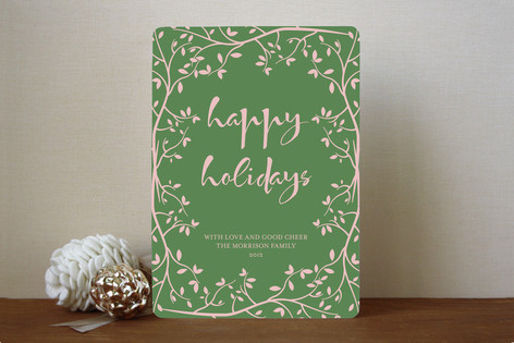 Winter Garden Holiday Cards