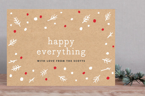 Kraft & Berry Holiday Cards
