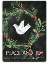 Peace And Joy Dove Holiday Cards