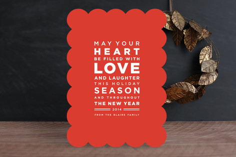 Earnest Holiday Cards