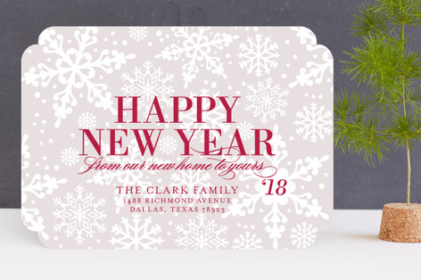 Flurries Holiday Cards