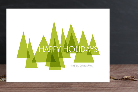 Mod Trees Holiday Cards