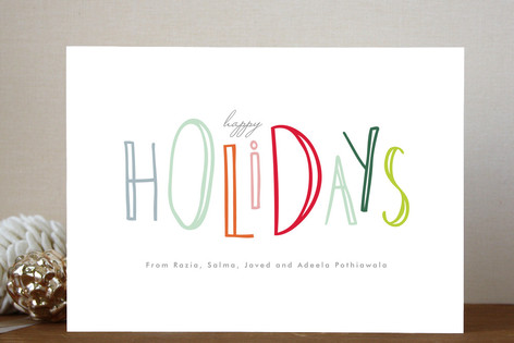 Happy Go Lucky Holiday Cards
