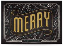 Merry Chalkboard