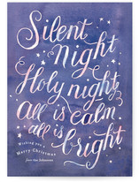 Silent Night by Four Wet Feet Studio