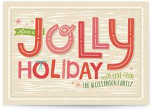Jolly Greetings by Ann Gardner