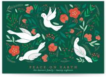 Birds Botanical Peace