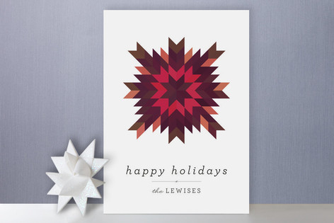 Star Crossed Holiday Cards