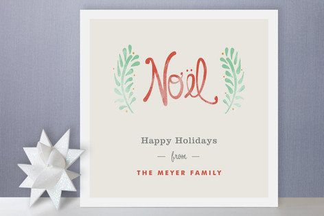 Antique Noel Holiday Cards