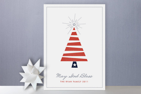 Patriotic Holiday Cards
