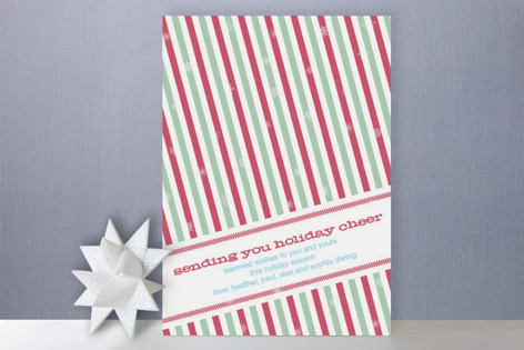 Holiday Stripes Holiday Cards