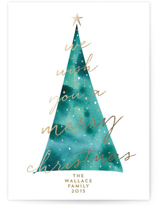 O Wishing Tree Holiday Non-Photo Cards