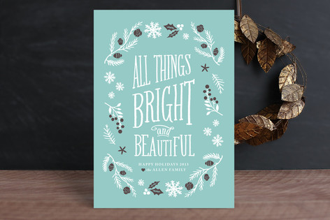 Bright & Beautiful Holiday Cards