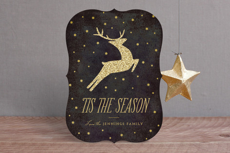 Festive Reindeer Holiday Cards