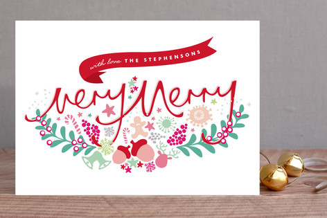 Illustrated Christmas Holiday Cards