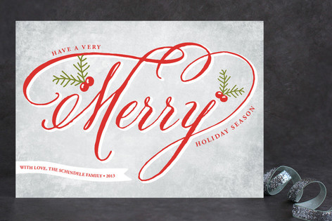 Merry Berry Holiday Cards