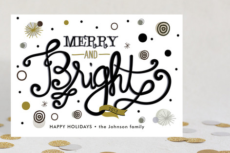 Be Bright Holiday Cards