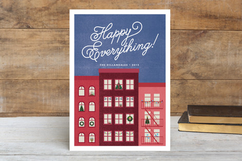 City Holidays Holiday Cards