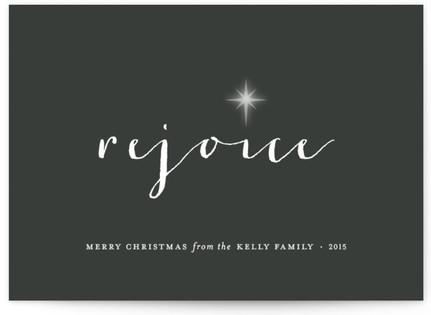 Rejoice Holiday Non-Photo Cards