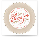 Warmly Wished Holiday Non-Photo Cards