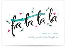 Festive fa la la la by cadence paige design