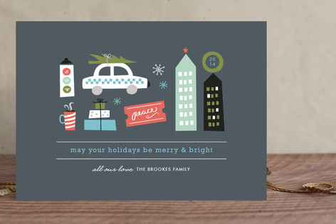 Holidays in the City Holiday Cards