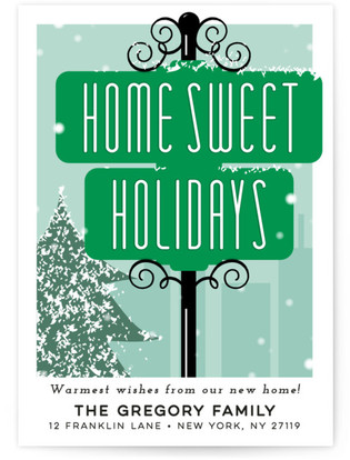 Home Sweet Holidays Holiday Non-Photo Cards