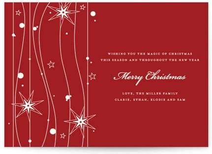 Twilight Stars Holiday Non-Photo Cards