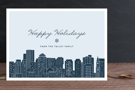 Big City - Boston Holiday Cards