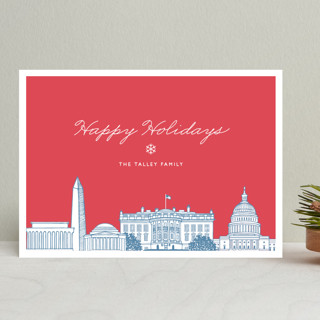 Big City - Washington DC Holiday Cards