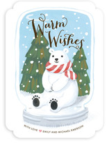 Polar Bear Snow Globe