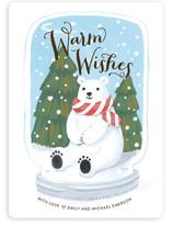 Polar Bear Snow Globe