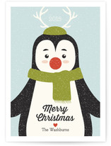 Winter Penguin Holiday Cards
