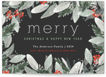 Berry Merry Christmas by Little Scribbles Paper