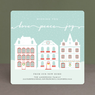 Peaceful Winter Holiday Cards