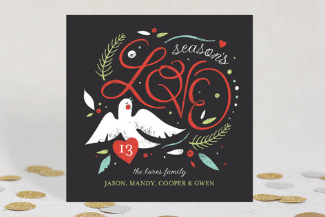Lovely Dove Holiday Cards