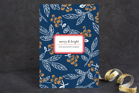 Winter Berry Holiday Cards