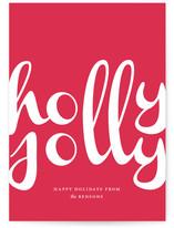 Holly Jolly Script