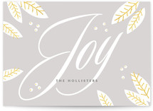 Boundless Joy Holiday Non-Photo Cards