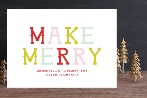 Merrymaking Holiday Cards