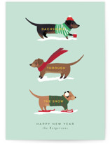 Dachshund Through the S... by Itsy Belle Studio