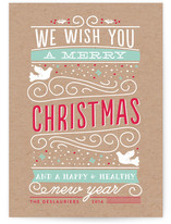 Festive Christmas Type by Bonjour Paper
